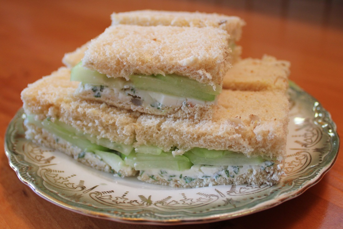 Cucumber Sandwiches - Fresh Easy Meals : Recipes For Every Day Meals