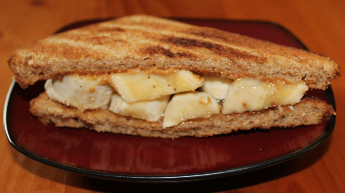 Peanut Butter, Banana & Honey Sandwich - Fresh Easy Meals : Fresh ...