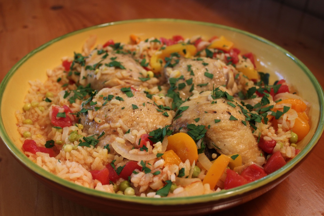 Spanish Chicken and Rice - Fresh Easy Meals : Recipes For Every Day ...