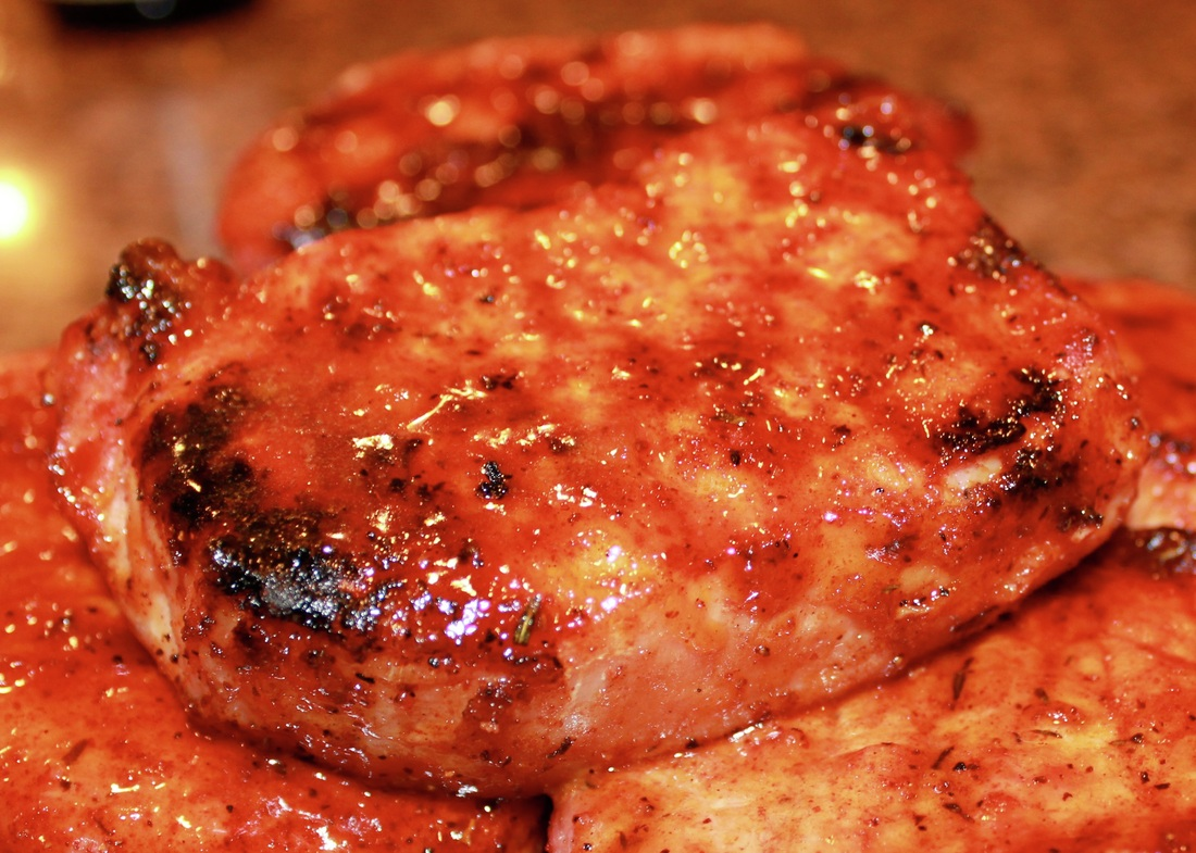 Pork Chops With Apricot Brandy Sauce Recipe — Dishmaps