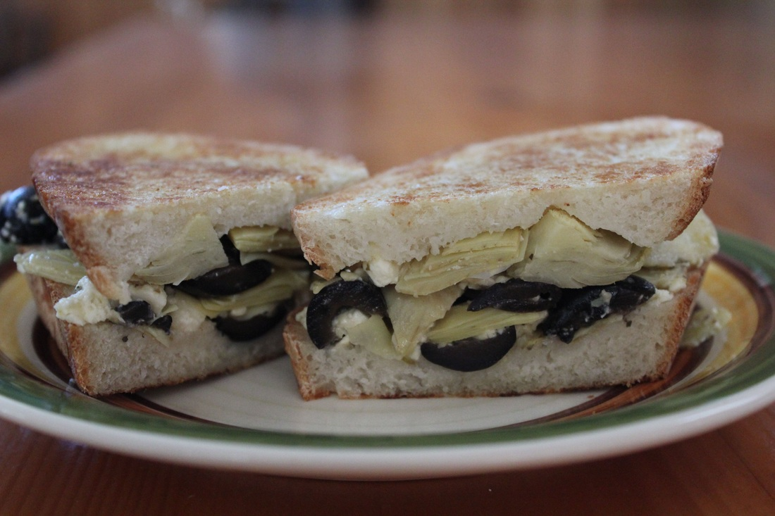 Artichoke & Feta Panini - Fresh Easy Meals : Recipes For Every Day ...