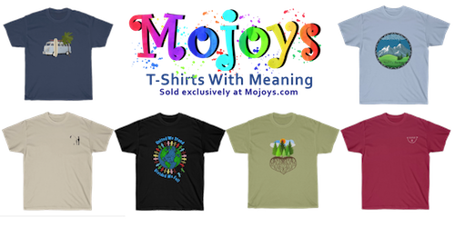 Mojoys t-shirts with meaning.Picture